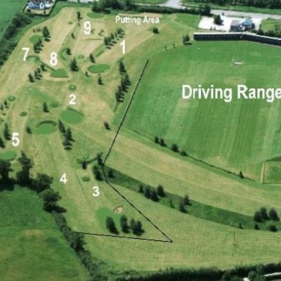 golf driving range north wales